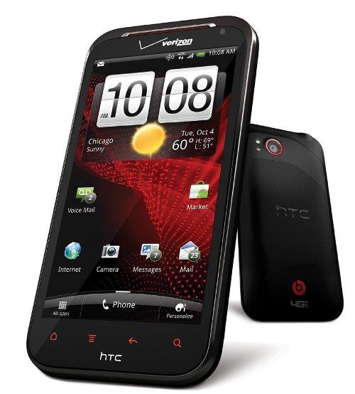 Vídeos hands-on do HTC Rezound