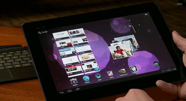 O novo ASUS Transformer Prime com Ice Cream Sandwich