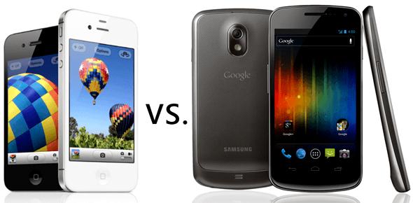 Qual câmera frontal é melhor: a do Galaxy Nexus ou a do iPhone 4S?