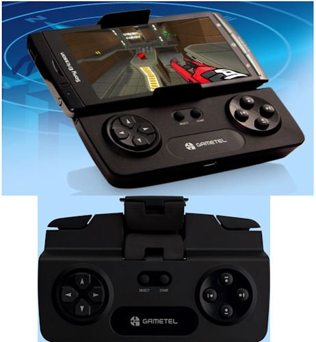 Gametel transforma Android em Xperia Play