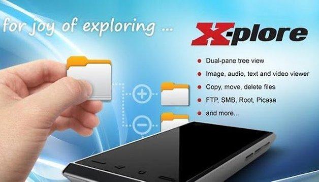 X-plore File Manager – Ein solides Gesamtpaket