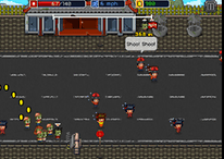 Infectonator Hot Chase - Flesh-eating, pixelated Zombie Attack!