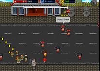 Infectonator Hot Chase : zombies cannibales pixélisés