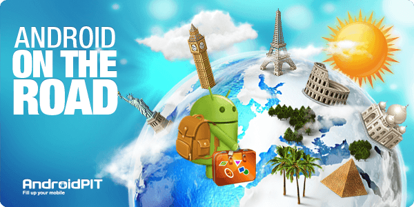 Android on the road meilleures applications new york