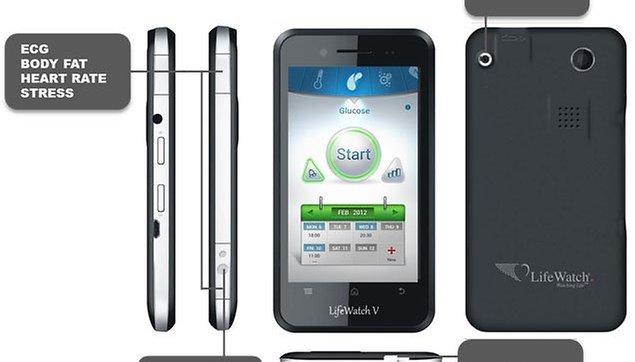 LifeWatch V - El doctor de Android que monitoriza tu salud