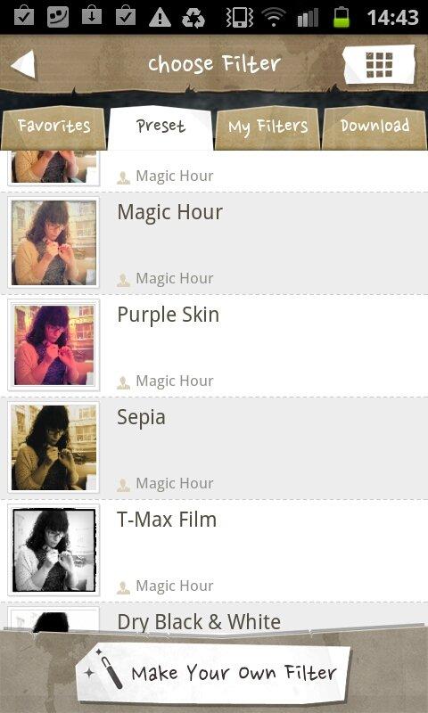 magic hour filtres