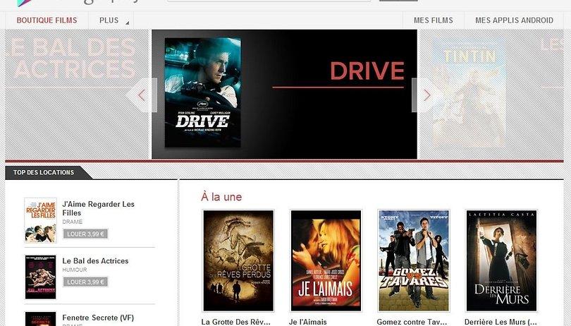 Google Play Films débarque en France!
