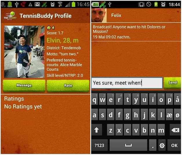 tennis buddy AndroidPIT 3