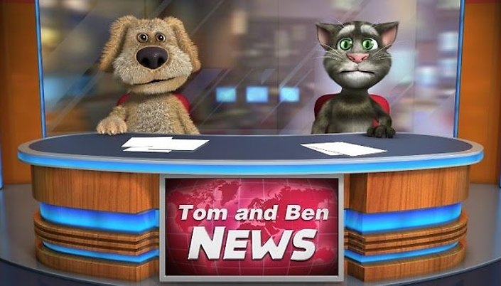 Talking Tom & Ben News Free - Le retour du chat qui parle