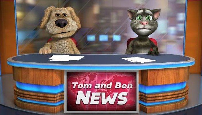 Talking Tom & Ben News Free - El retorno del gato que habla