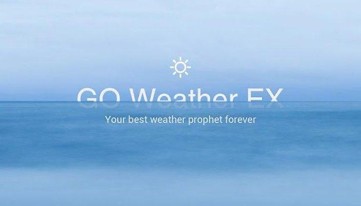 GO Weather Forecast & Widgets - Sortez couverts !