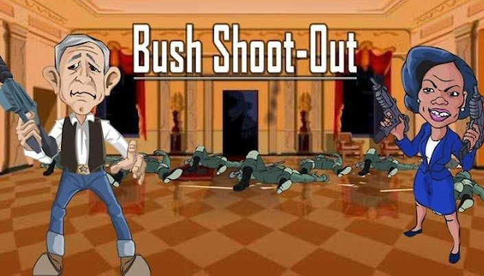 """WTF?!"" App Of The Week da AndroidPIT: Bush Shoot-Out"