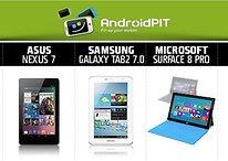 [Comparação] Nexus 7, Samsung Tab 2 7.0, iPad 3 e Microsoft Surface