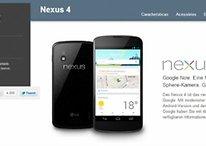 Nexus 4 está esgotado!