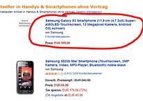 Samsung Galaxy S3 já é o mais vendido na Amazon.de