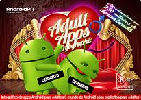 [Infográfico] Apps Pornô para Android