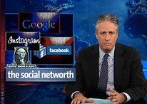 [Vídeo] John Stewart brinca com os Óculos Google e com o Instagram