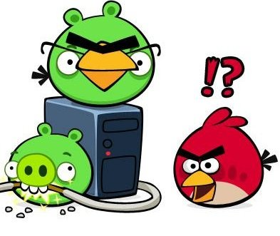 Angry Birds Chrome virus