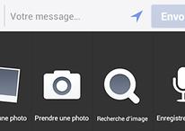 Mise à jour de Facebook Android : les messages vocaux sont là