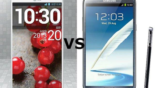 LG Optimus G Pro - ¿Puede superar al Samsung Galaxy Note 2?