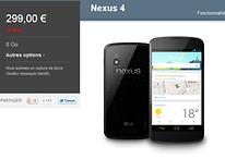 Le Nexus 4 et la Nexus 10 officiellement en rupture de stock