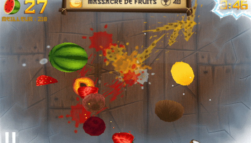 Fruit Ninja vs Jetpack Joyride - ¿Cuál es mejor ?