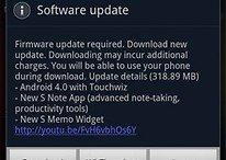 [Mis à jour] Ice Cream Sandwich pour le Samsung Galaxy Note est là !