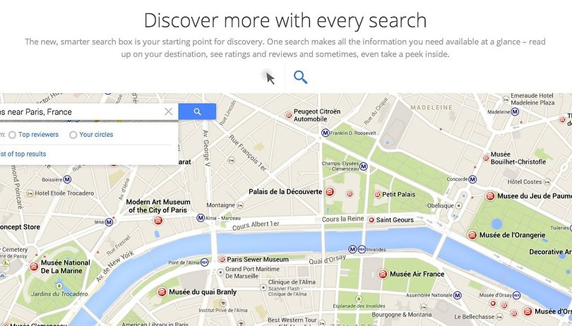 Google I/O - Google Maps aparece antes de la presentación