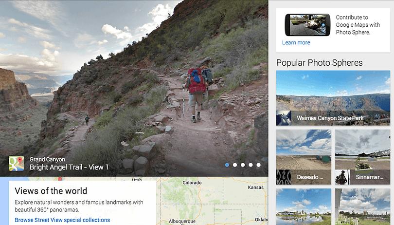 Google Views : le nouveau service regroupant les photos panoramiques