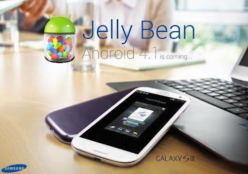 actualizacion jelly bean samsung galaxy s3