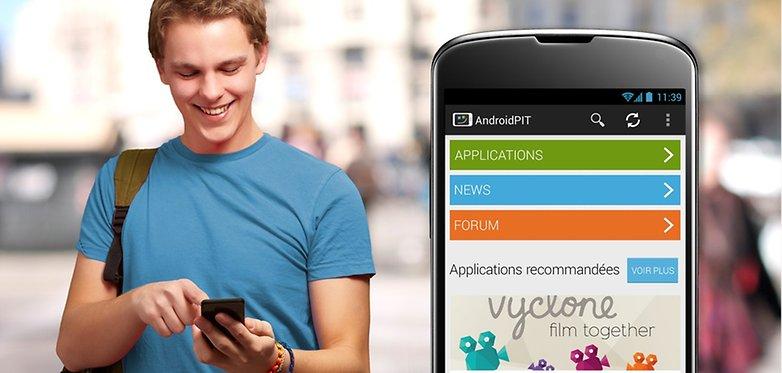 new app annoucment fr