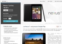Achetez dès maintenant la Nexus 7 à 199 euros sur le Playstore