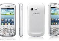 Samsung Galaxy Chat : un nouveau smartphone à clavier physique