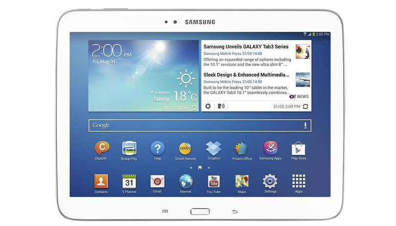 8 pouces et 10.1 pouces : Samsung officialise deux Galaxy Tab 3