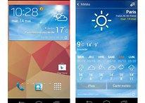 Galaxy S4 : le launcher et le widget météo pour les autres smartphones