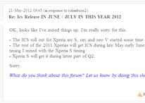 La mise à jour ICS pour le Sony Xperia S une nouvelle fois retardée