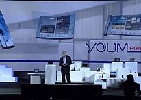 CES 2013 : Samsung dévoile YOUM, son écran flexible