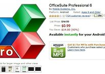 Deal Alert! OfficeSuite Professional 6 On Sale For $.99. Down From $14