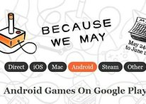 """Because We May"" - jogos com descontos na Google Play Store"