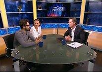 Google Co-Founder Lets TV Host Wear Google Glasses During Interview