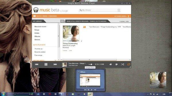 Unofficial Google Music Desktop Player For Windows = WIN