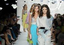 Runway Models Show Off Google Glasses At New York Fashion Week