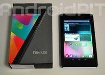 La Nexus 7 en 3G et 32 Gb disponible dans le Playstore