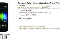 Amazon Now Selling Verizon Galaxy Nexus For One Cent