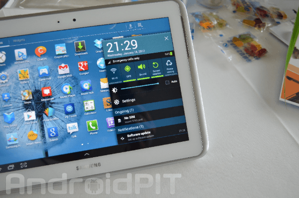 galaxy note 10.1 jelly bean