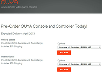Android Powered Ouya Gaming Console Now Available For Pre-order