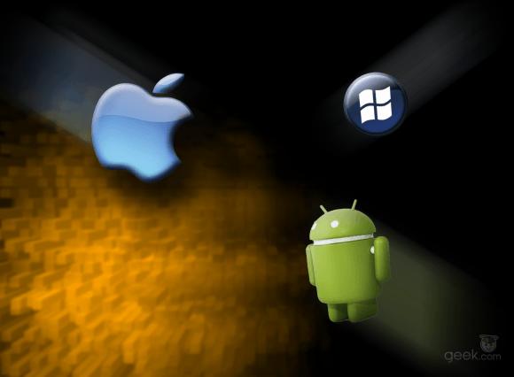 Android vs iPhone vs Windows Phone