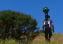 Google Street View Mochilero - ¿Accidente a la vista?