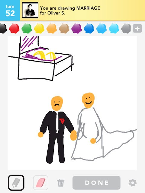 Draw Something Marriage