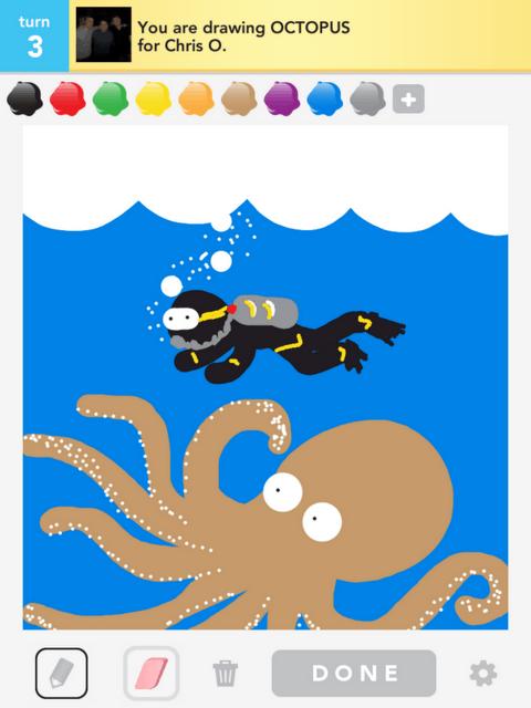 Draw Something Pieuvre